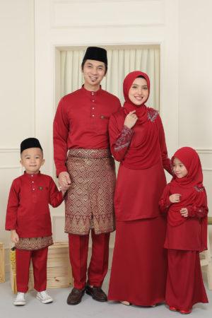 SET FAMILY SERI MAROON