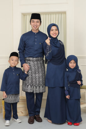 SET FAMILY SERI NAVY BLUE