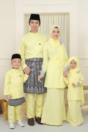 SET FAMILY SERI SOFT YELLOW