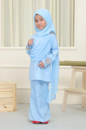 Kurung Seri Kids Baby Blue