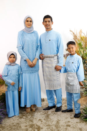 SET FAMILY TYARA BABY BLUE