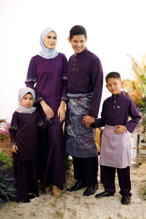 SET FAMILY TYARA DARK PURPLE
