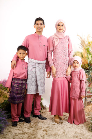 SET FAMILY TYARA DUSTY PINK