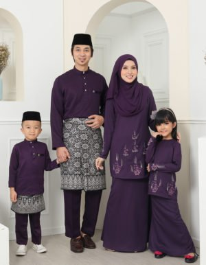 SET FAMILY ATHEA DARK PURPLE