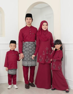 SET FAMILY ATHEA MAROON