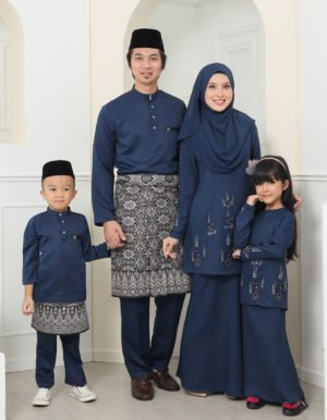 SET FAMILY ATHEA NAVY BLUE