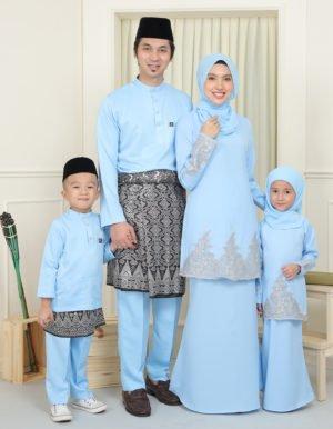 SET FAMILY ELISA BABY BLUE