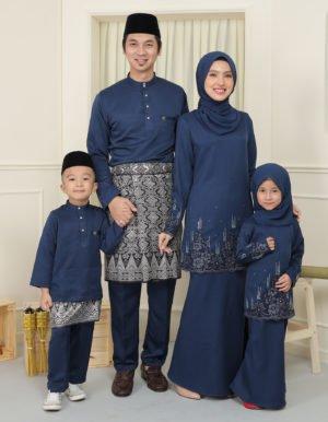 SET FAMILY ELISA NAVY BLUE