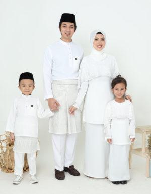 SET FAMILY MELEANA OFF WHITE