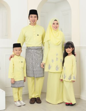 SET FAMILY ATHEA SOFT YELLOW