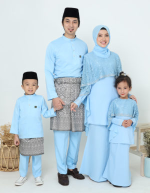 SET FAMILY MELEANA BABY BLUE
