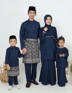 SET FAMILY MELEANA NAVY BLUE