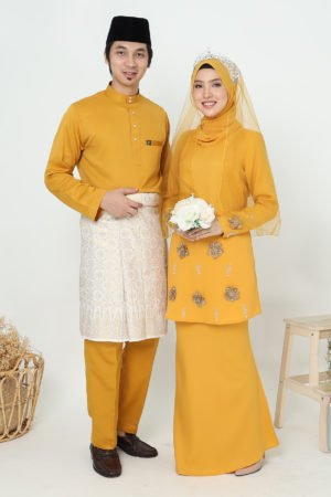 Set Couple Eriyca Mustard ( 6 ITEM )