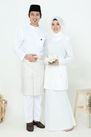 Set Couple Eriyca Off White ( 6 ITEM )