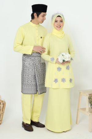 Set Couple Eriyca Yellow ( 6 ITEM )
