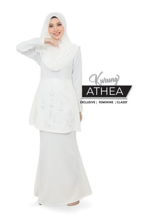 Kurung Athea Off White