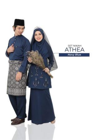 Set Couple Athea Navy Blue – GOLD