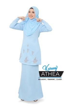 Kurung Athea Baby Blue