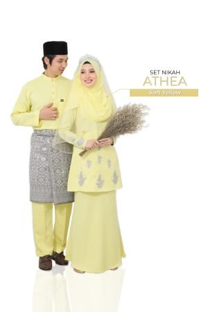 Set Couple Athea Soft Yellow – GOLD