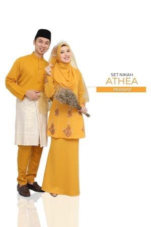 Set Couple Athea Mustard – GOLD
