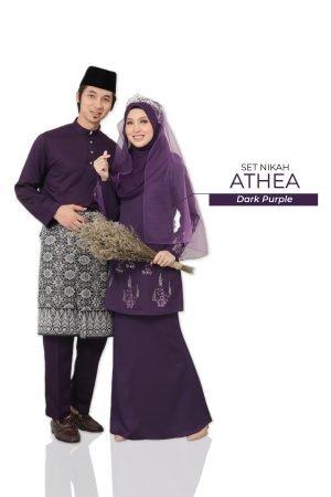 Set Couple Athea Dark Purple – GOLD