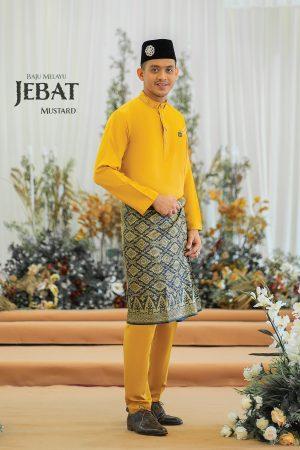 Baju Melayu Jebat Mustard