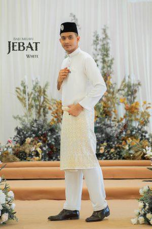 Baju Melayu Jebat Off White