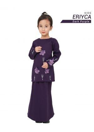 Kurung Eriyca Kids Dark Purple