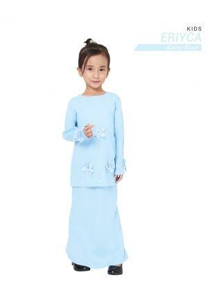 Kurung Eriyca Kids Baby Blue