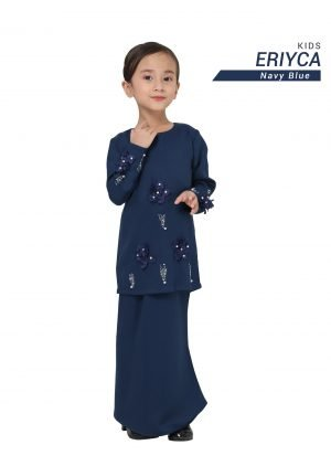 Kurung Eriyca Kids Navy Blue