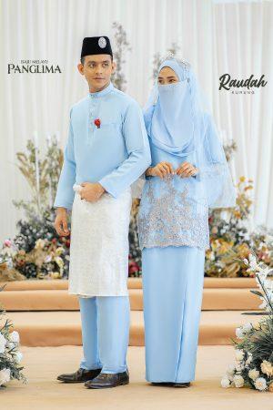 Couple Raudah Baby Blue (6 ITEM)