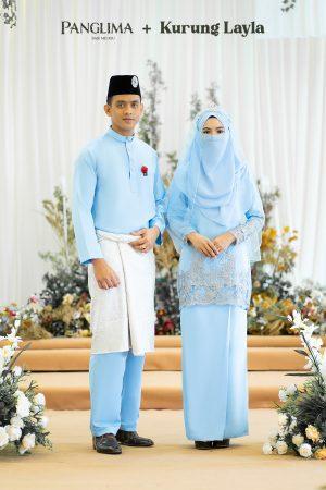 Couple Layla Baby Blue (6 ITEM)