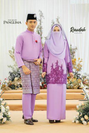 Couple Raudah Lilac (6 ITEM)
