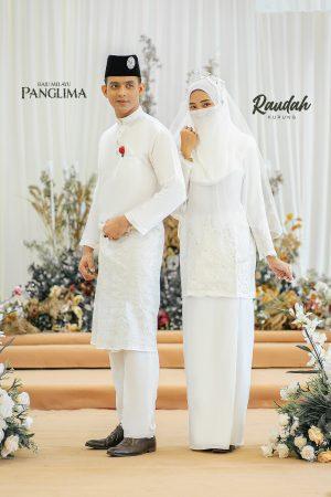 Couple Raudah Off White (6 ITEM)