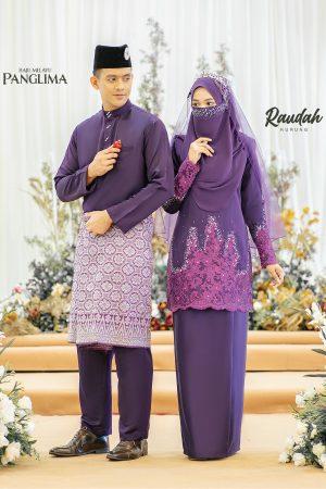 Couple Raudah Purple (6 ITEM)