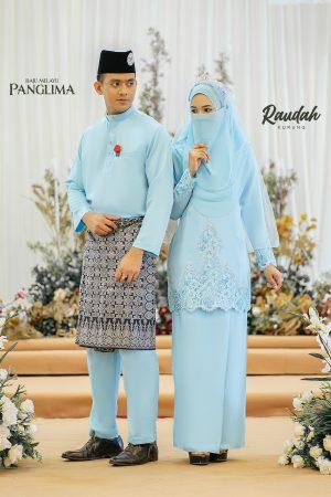 Couple Raudah Sky Blue (6 ITEM)