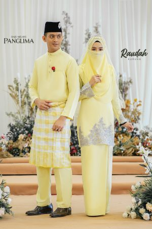 Couple Raudah Soft Yellow (6 ITEM)