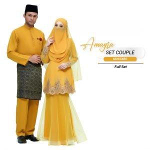 Couple Amayra Mustard- PLATINUM