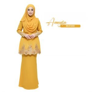 Kurung Amayra Mustard