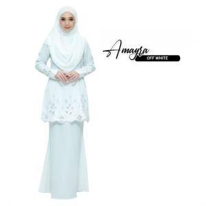 Kurung Amayra Off White