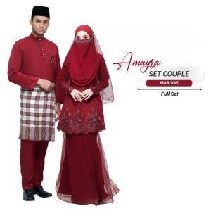 Couple Amayra Maroon – PLATINUM