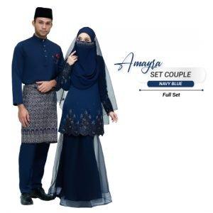Couple Amayra Navy Blue – PLATINUM