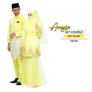 Couple Amayra Soft Yellow – PLATINUM