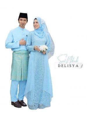 Set Couple Delisya Baby Blue – DIAMOND