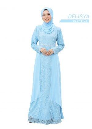 Dress Delisya Baby Blue