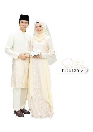 Set Couple Delisya Cream – DIAMOND