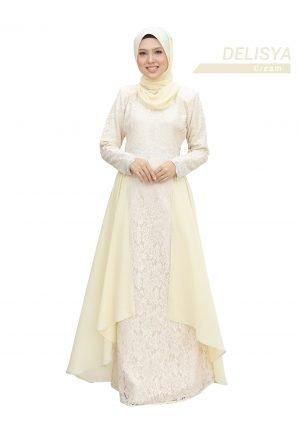 Dress Delisya Cream
