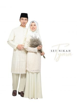 Set Couple Tyara Cream- PLATINUM