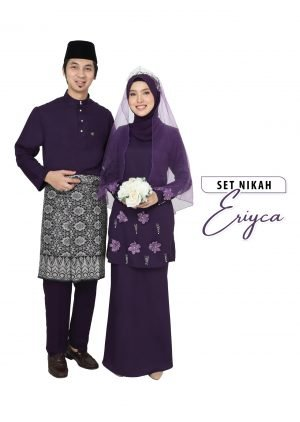 Set Couple Eriyca Dark Purple  – TITANIUM