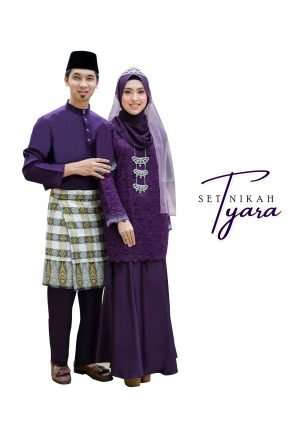 Set Couple Tyara Dark Purple – PLATINUM